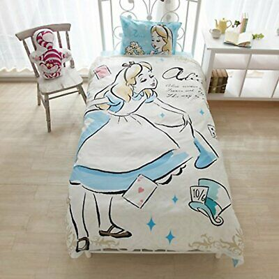 Disney Alice Bed Cover 3-piece set SB-120 with Tracking# New Japan