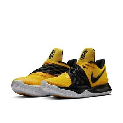 new concept ec72f 95f1a Nike Kyrie Low 1 AO8979-700 Air Amarillo Yellow Black Basketball Irving  Men s DS