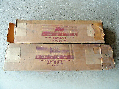 1955 Ford Mercury Y Block 272 292 312 Nos Chrome Valve Covers Nib B5A-6582-A