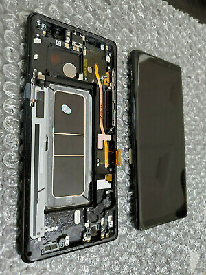 Great Samsung Galaxy Note 8 Note8 N950 LCD Digitizer Frame Touch Screen - Black