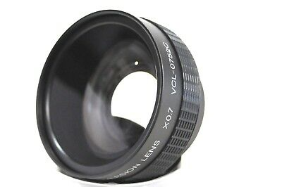 EXC+++!! SONY VCL- 0752C WIDE CONVERSION LENS x0.7  From Japan
