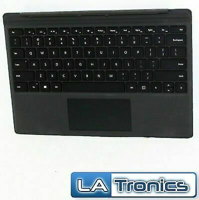 Genuine Microsoft Surface Pro 3, 4, 5, 6 Type Cover Backlit Keyboard 1725 Tested