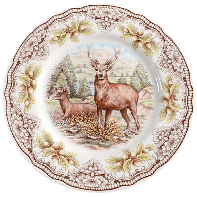 Victorian English Pottery HOMELAND Dinner Plate 11153086