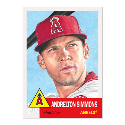 2019 Topps Living Set * ANDRELTON SIMMONS * Card #174 * Los Angeles Angels