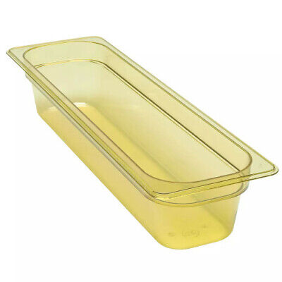 Cambro 24LPHP150 H-Pan Amber High Heat Half Size Food Pan (6 per case)