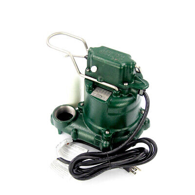 Zoeller M53 3/10 HP Submersible Sump Pump 115V Vertical Switch