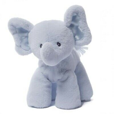Elephant Soft Plush Toy by Baby Gund Blue Bubbles New Stuffed Infant Gift 19 cm