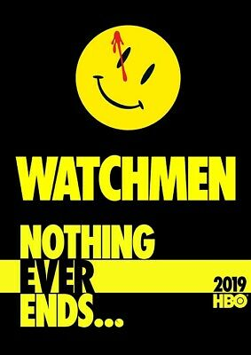 "Watchmen Poster 2019 New TV Series Art Print Size 11x17"" 13x20"" 24x36"" 27x40"""