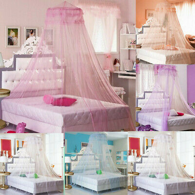 Mosquito Net Princess Lace Dome Bed Canopy for Kids Girls Fly Insect Protect US