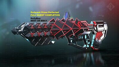 Destiny 2 Outbreak Perfected FULL Quest & Catalyst! (PS4 / PC)