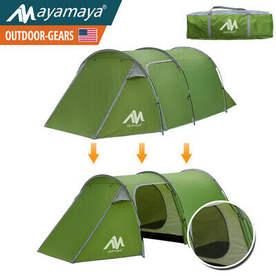 DOME CAMPING TENT 2 Room 6 Person Greatland Outdoors 13x11