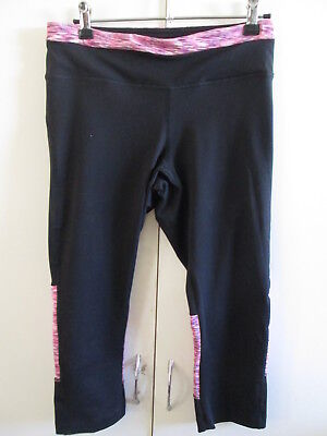 Ladies Active & Co size 12 Exercise Pants Stretch Yoga Fitness Inside Pocket