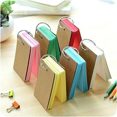 Mini Diary Notebook Writing Papers Notepad Travel Pocket Planner Journal Memo