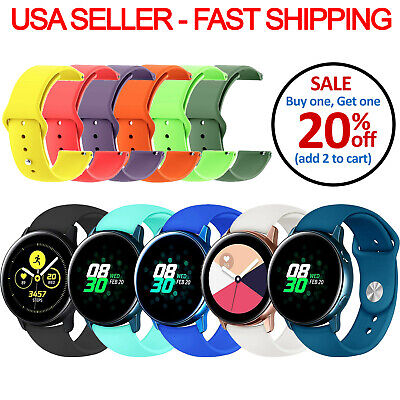 Replacement Silicone Band Strap Small/Large For Samsung Smart Watch 42mm