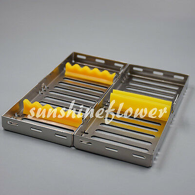 New Dental Surgical Autoclave Sterlization Cassettes Racks Box For 5 Instruments