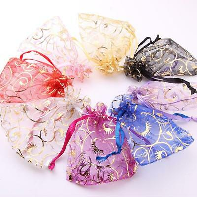 Organza Bag Sheer Bags For Jewellery Wedding Sugar Candy Packaging Gift Supply