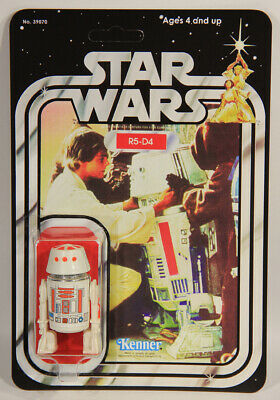 L010519 Star Wars Custom Card 21 Back 1978 / Action Figure / R5-D4 / Kenner