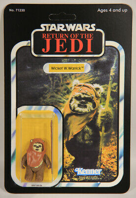 L010520 Star Wars ROTJ / Custom Card / 1984 / Action Figure / Wicket W. Warrick