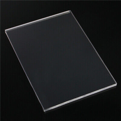 A4 Clear Acrylic Sheet 210mm × 297mm