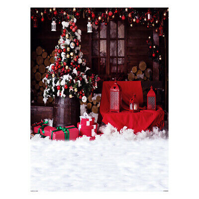 Andoer 1.5*2 meters / 5*7 feet Christmas Holiday Theme Background Photo D9Q2
