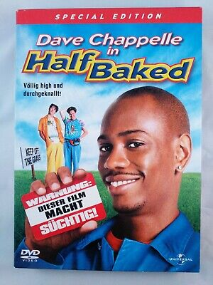 Half Baked - Special Edition / Media Book / DVD Film + Specials / Dave Chapelle