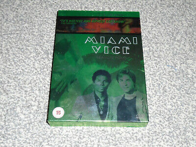 MIAMI VICE : SEASON FOUR 4 - CULT 1980's COP SHOW 6 DISC DVD BOXSET (FREE UK P&P