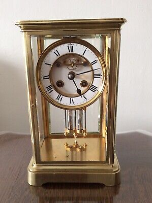Antique  French Four Glass Clock