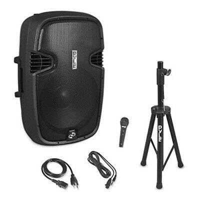 Pyle PPHP155ST Wireless Portable PA Speaker System - 1500W High Powered Bluetoo