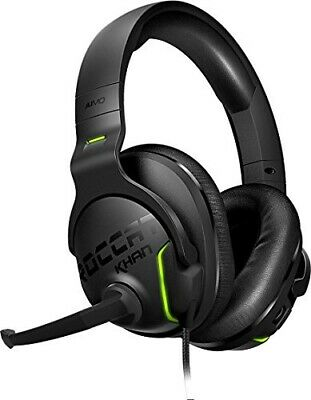 ROCCAT Khan AIMO - 7.1 Surround Gaming Headset, Hi-Res Sound, USB, AIMO LED Ill