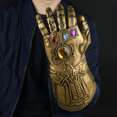 Infinity Gauntlet Guanto Di Sfida Thanos Cosplay Avengers 3 War Regalo Costum pq