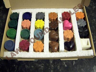 Dyes for candle making Set C...dye up to 24 kilos of wax 24 different colours