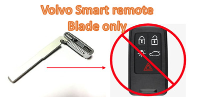 high quality aftermarket key blade for Volvo smart key