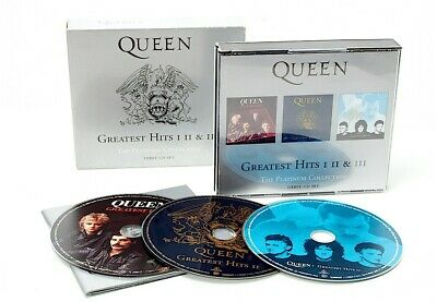 Queens Greatest Hits 1 2 & 3 Platinum Collection Cd