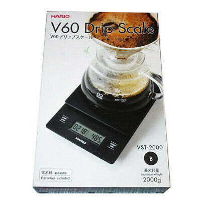 Hario Coffee Drip Scale Timer V60 VST-2000B from JAPAN