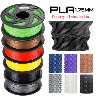 3D Printer 1.75mm PLA Filament 350Meters Drum Roll Stretchy & Flowable UK
