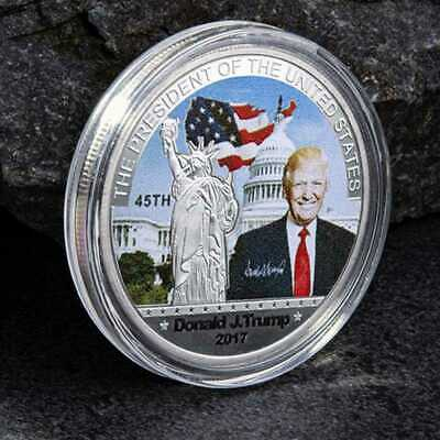 New 2017 Donald Trump 45th President US Commemorative Coin Make American Great