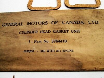 Valve cover gaskets GM 3764410