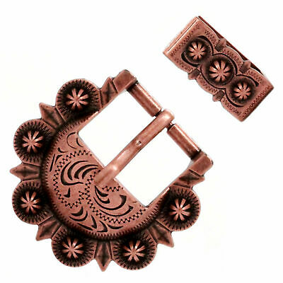 Calgary Berry Buckle Set Antique Copper 3/4 Inch 4507-10