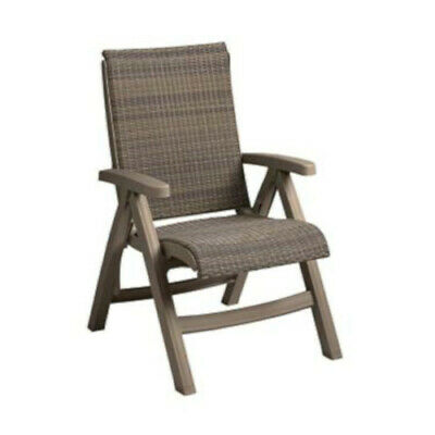 Grosfillex CT406181 Java Folding Wicker Chair(2 per case)