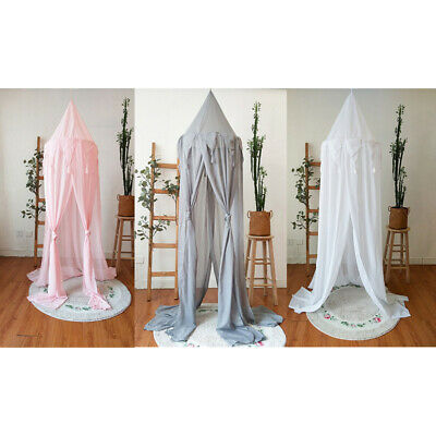 New Baby Triangular Lace Crib Baby Mosquito Net Sandfly Netting For Stroller 8L4