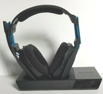 USED ASTRO Gaming A50 Wireless Dolby Gaming Headset 3rd Gen Black/Blue PS4 & PC