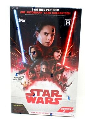 2018 Topps Star Wars The Last Jedi - Series 2 Hobby Box Blowout Cards