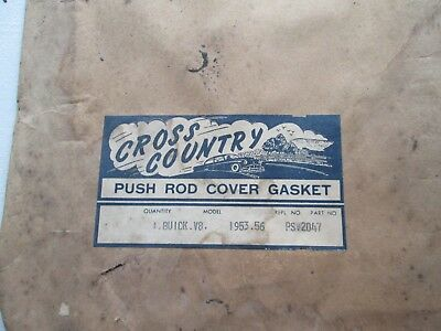 Push Rod Cover gasket 1953-56 Buick V/8 PS2047