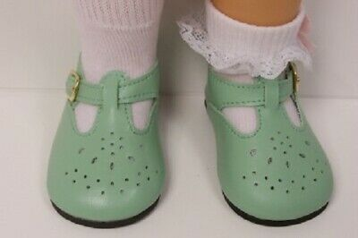 Debs DK YELLOW Fancy T-Strap Tstrap Cut-Out  Doll Shoes For Chatty Cathy