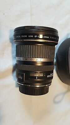 Canon EF-S 10-22 mm f/3.5-4.5 USM and EF 70-300 mm f/4-5.6 IS USM