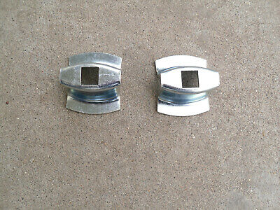 55 Chevy Bumper End to Body Bell Spacers Pair 1955 Chevrolet