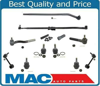 Fits 07-17 Wrangler Ball Joints Tie Rod Arm To Steering Assembly Front 12Pc Kit