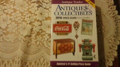"2016 Antique Trader & Collectibles Price Guide ""New & Free Shipping"""