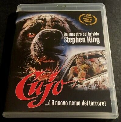 Cujo Blu-ray 1983 Stephen King Rabid Dog Horror Classic Italian Import Eng Lang