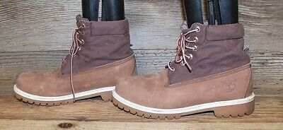 "Timberland Men/'s 8/"" TB0A12KN214 Crosscut ST WP Leather Lace Up Boots Brown"
